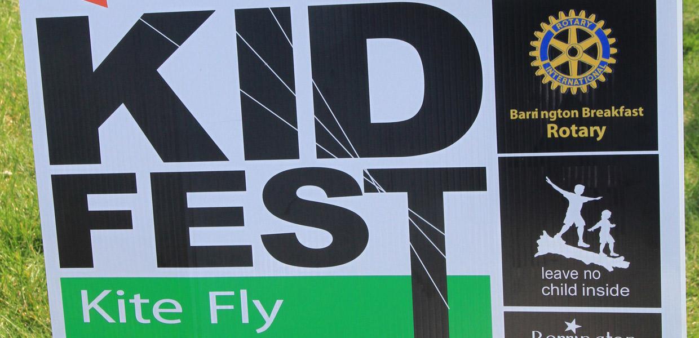 KIDFEST sign